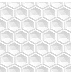 Abstract white 3d texture - seamless vector