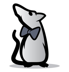 Cool Rat Icon vector image