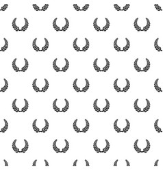 Trophy pattern seamless vector