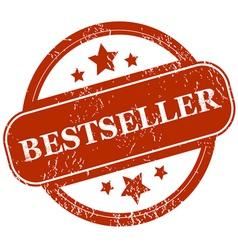 Bestseller grunge icon vector