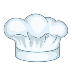cook hat icon cartoon style vector image