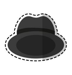vintage hat icon image vector image vector image