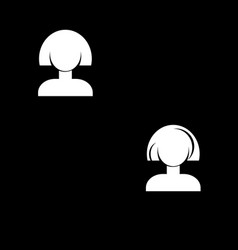 Icon women vector