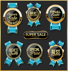 a collection various badges and labels 99081 vector image