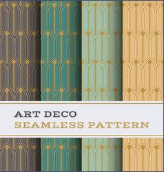 Art deco seamless pattern 27 vector