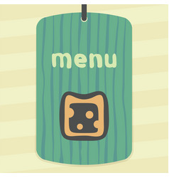 Cheese sandwich icon modern infographic logo vector