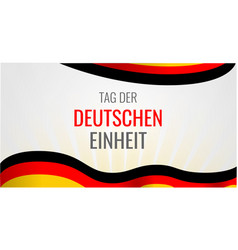 Deutschen einheit concept background hand drawn vector