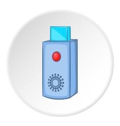 USB flash drive icon cartoon style vector