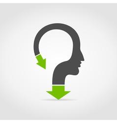 Arrow head vector image vector image