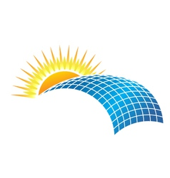 Solar Business vector image vector image