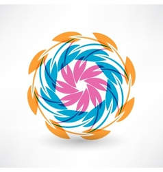 Colored matches vector image