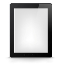 Tablet PC EPS 10 vector image