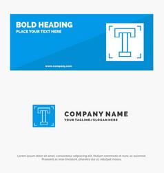 Designer font path program text solid icon vector