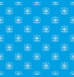 energy pattern seamless blue vector image