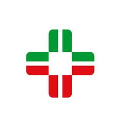 medical icon logo vector image