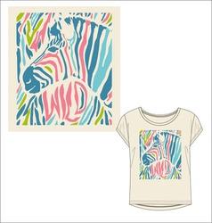 Women tshirt print vector