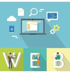 Web design banner vector