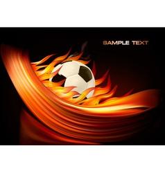 football euro 2012 vector image