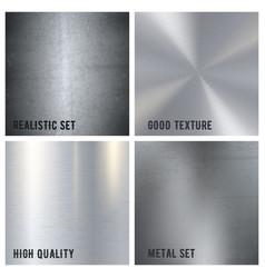 metal texture design concept vector image vector image