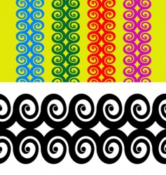 armband tattoo vector image vector image