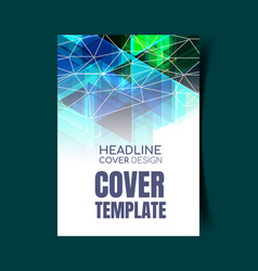 Abstract report cover 8 vector