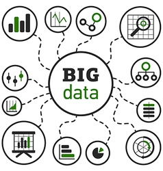BigData vector image