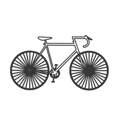 Bike cycle sport bicycle design vector