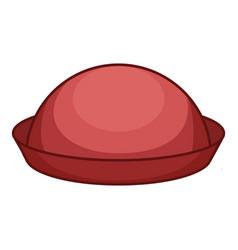 bowler icon cartoon style vector image
