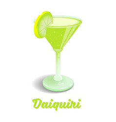 Cocktail daiquiri vector