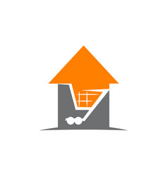 Home cart vector