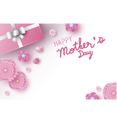 mothers day banner design vector image