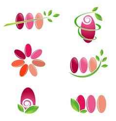 Nail Spa Design vector image