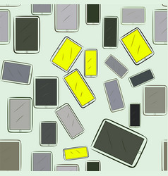 Seamless abstract handphone or mobilephone vector