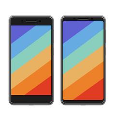Smartphones new trend vector
