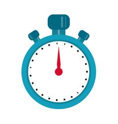 stopwatch chronometer sport equipment vector image