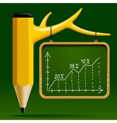 Education design vector image
