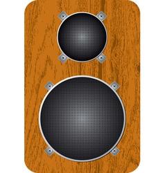 speaker 01 vector image vector image