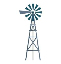 Wind Water Pump vector image