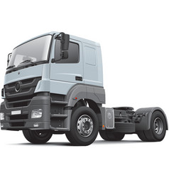 European commercial freight vehicle vector image