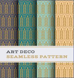 Art deco seamless pattern 28 vector