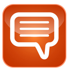 chat app icon vector image