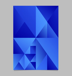 geometrical polygonal minimal blue gradient vector image