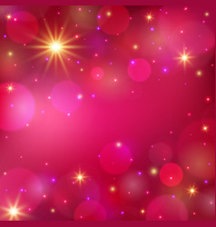 Magic shining background romantic background vector