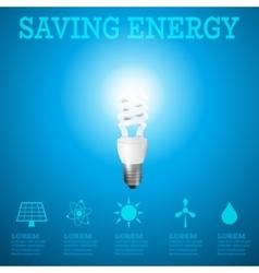 Saving energy 2 vector