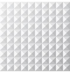 Geometrical white seamless pattern vector image