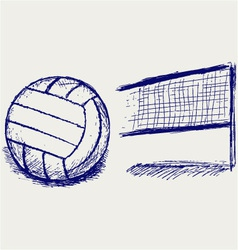 Ball for sports vector image vector image