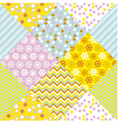 Abstract round contemporary seamless pattern vector