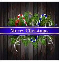 Christmas background grey vector