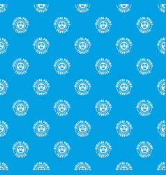 digital print textile pattern seamless blue vector image