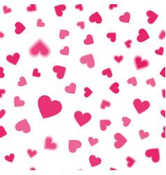 Heart pink pattern vector